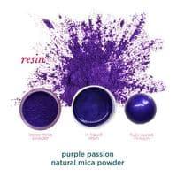 Natural Mica Powder - Purple Passion